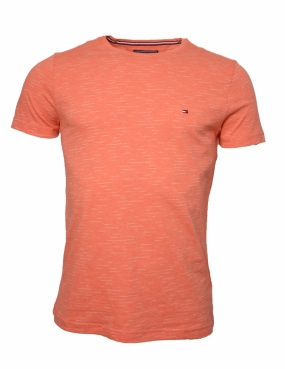 Classic Heather Tee, Hot Coral Heather