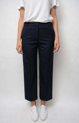 Kaia Cropped Pant, Midnight