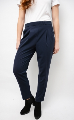 Libby Pull On Pant, Dark Blue