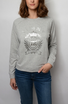 Mora C-nk Sweatshirt, Light grey