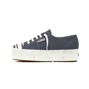 SUPERGA 2790 SOFI FAHRMAN, BLUE WHISTRIPE