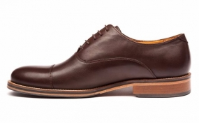 Benny Shoe Dark Brown