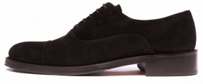 Benny Shoe, Black Suede