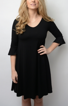 LAFAYETTE DRESS, BLACK