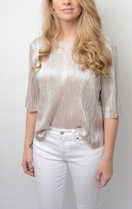 PAPIN BLOUSE, GOLD