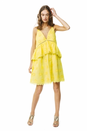 Neela Dress, Lemon
