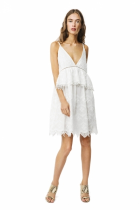 Neela Dress, White