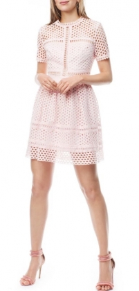 Emily Dress, Dusty Pink