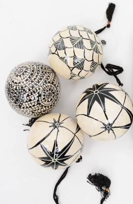 Day Christmas Ornaments, 4 Pack
