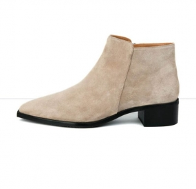 Nata Boots, Sand Suede