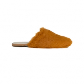 Celina Shoe, Rust Fur