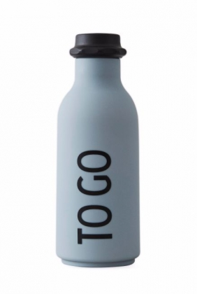 To Go Water Bottle, Grey