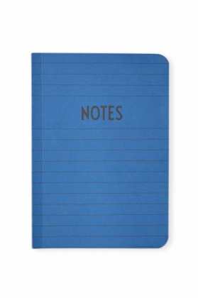 Notes A6 Softpack, Blue