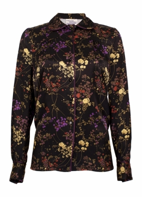 MICHELLE BLOUSE, NIGHT BLOOM
