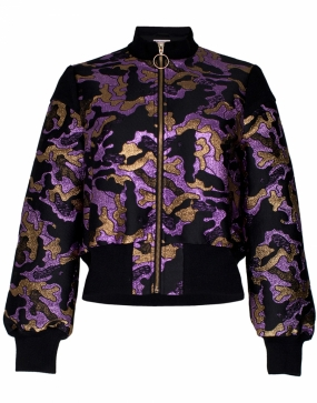 BLOSSOM JACKET, PINK GOLD ARMY