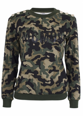 JAPERA SWEATER, GREEN ARMY