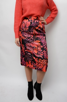 Savana Skirt, Pink Feathersky