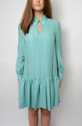 Avalon Dress, Canton Green