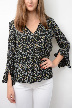 Marguerite Blouse, Black Lians