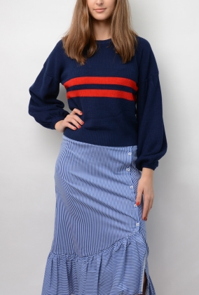 Celeste Sweater, Evening Blue