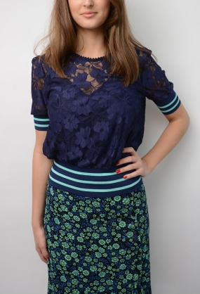 Marvel Blouse, Astral Blue