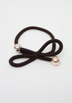 Hair Tie, Dark Brown