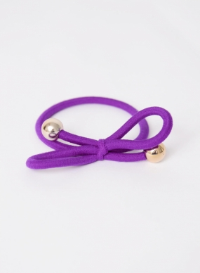 Hair Tie, Dark Purple