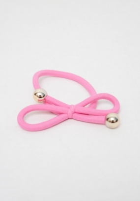 Hair Tie, Rose Pink