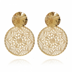 AMBROSIA EARRINGS, GOLD