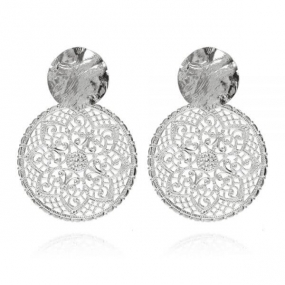 Ambrosia Earrings, Rhodium