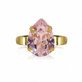 Mini Drop Ring Gold, Rosaline