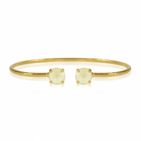 Petite Stud Bracelet Gold, Powder Yellow