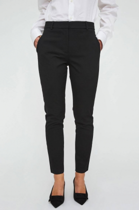 Kylie Crop Pant, Black