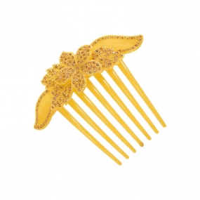 Flower Comb, Yellow