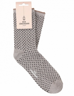 Dina Small Dots, Grey Melange
