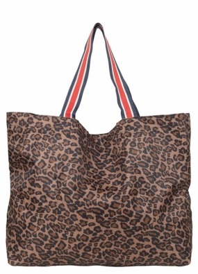 Foldable Animal Bag, Chocolate Brown