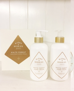 Hand Duo Set White Forest