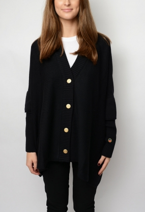 Blondelle Cardigan, Black