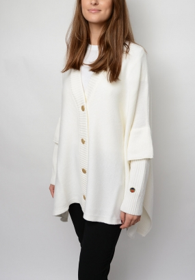 Blondelle Cardigan, Offwhite