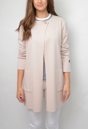 Aurillac Coat, Light Pink