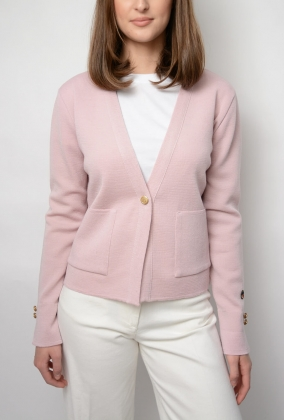 Argol Jacket, Blush Pink
