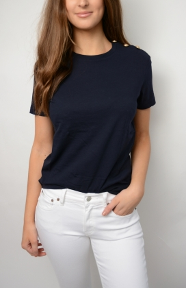 Toulon Solid T-shirt, Marine