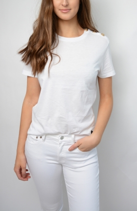 Toulon Solid T-shirt, White