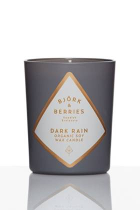 Dark Rain Scented Candle