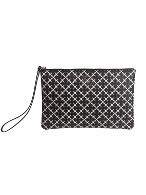 Pamelah Pouch Black & Cream