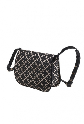 Crossby Bag Black & Cream