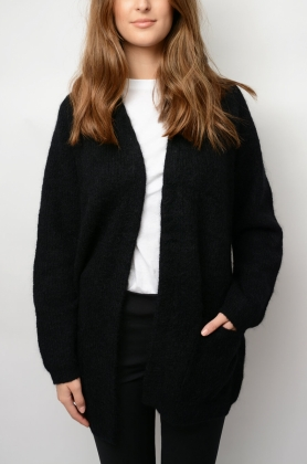 Belinta Cardigan, Black