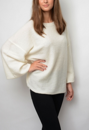 Riksos Sweater, Soft White