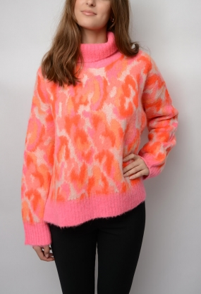 Lallii Sweater, Clear Pink