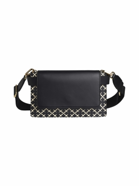 Darin Bag, Black & Cream